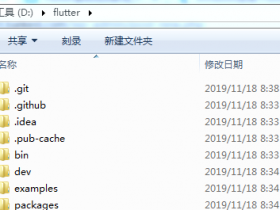 windows下Flutter环境搭建