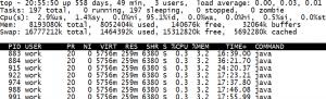线上服务占用cpu过多问题定位