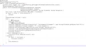 任意文件下载漏洞的简单防护措施