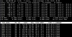 parallel 合理利用 CPU 资源