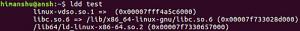 Linux ldd 命令