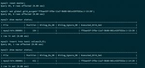 MySQL 5.7基于GTID的主从复制实践