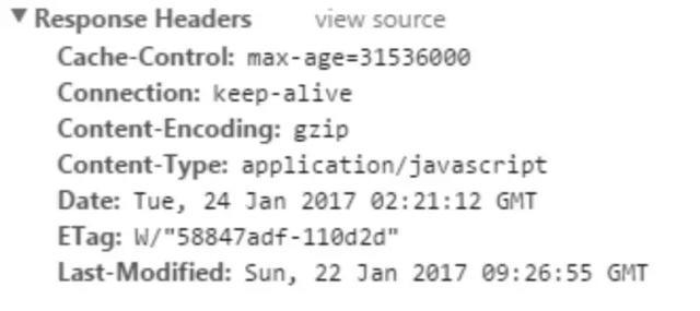 HTTP缓存机制