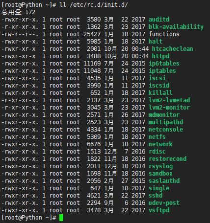 Linux的运行级别