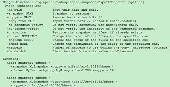 HBASE的主备数据备份