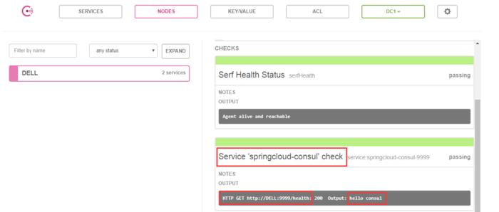 Spring Cloud Consul服务注册与发现