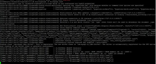 利用Logstash实时同步mysql数据至elasticsearch