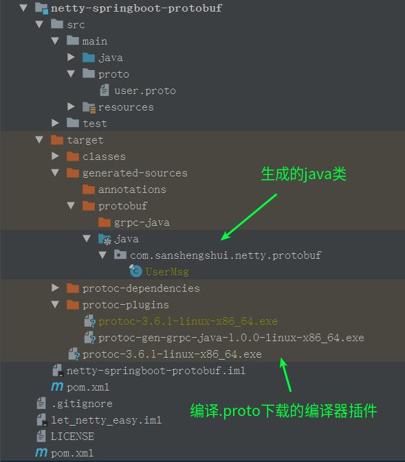 Netty4.x整合SpringBoot2.x使用Protobuf3详解