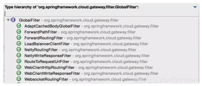 spring cloud gateway 全局过滤器