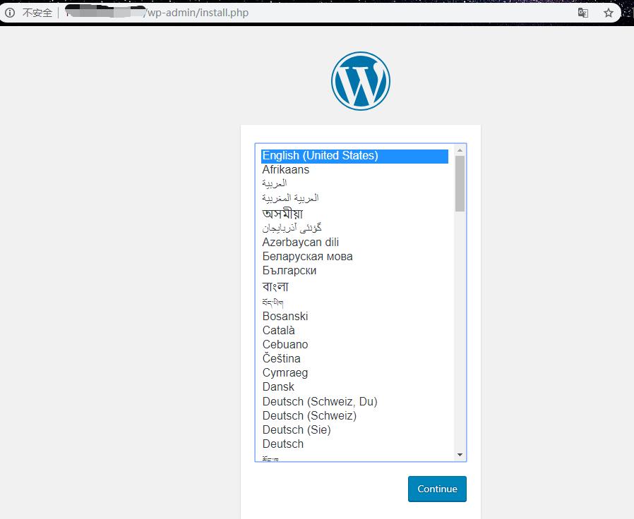 使用docker在CentOS7上搭建WordPress