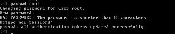 Linux下root密码忘记了怎么重置