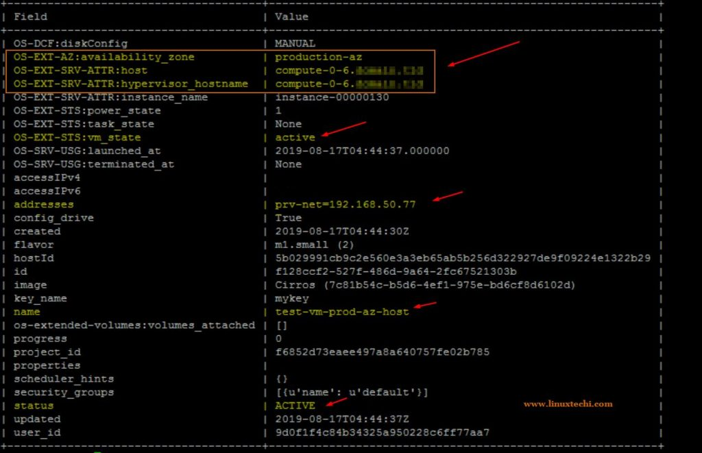 如何从命令行在OpenStack中创建可用区