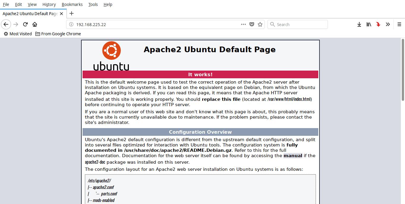 Ubuntu 18.04 LTS安装LAMP