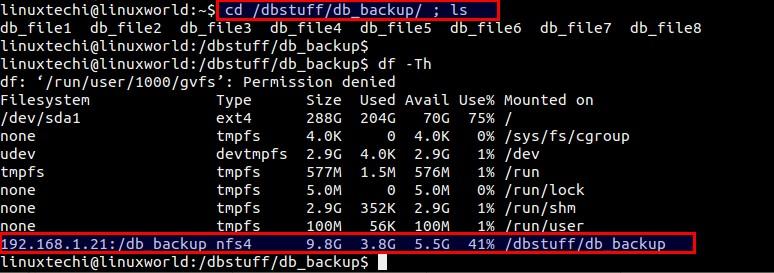 使用autofs在Linux中自动挂载NFS