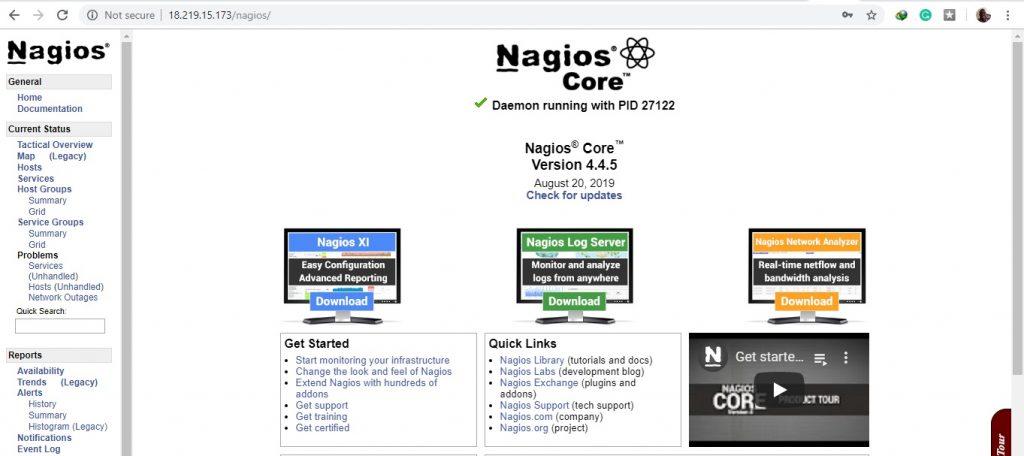CentOS 8 上安装Nagios Core