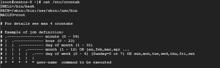 linux下crontab在线配置解析