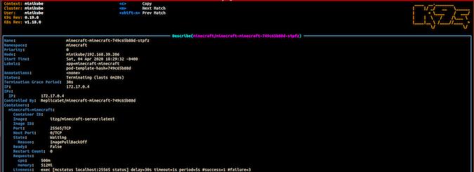 使用k9s加速Kubernetes集群的管理